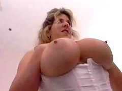 Breasted plump lady gets ass fucked great bbw