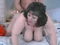 Plump brunette w large tits screwed great bbw