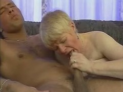 Paunchy mature blonde fucks in hotel with dude great bbw