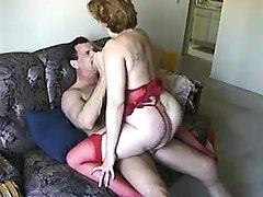 Paunchy mature woman fucked by dude in hotel great bbw