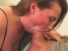 Hot fatty taking in mouth and pussy great bbw