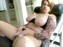 Black dick fucks busty plump blonde
