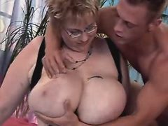 Furious portly girl fucking with boyfriend on sofa great bbw