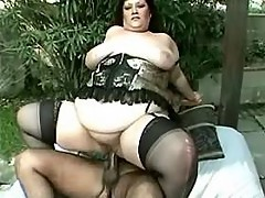 Obese flabby woman fucks brains out great bbw