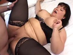 Asian fat slut crazy fucked by man great bbw