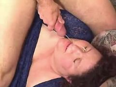 Large whore gets cum in gangbang great bbw
