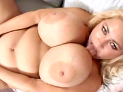 Samantha bounces her tits like jello great bbw