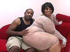 Two mature fatties with huge boobs blows dick